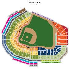 Schematic view of Fenway Park